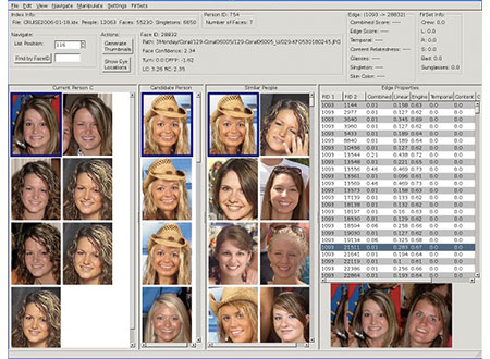 YouFinder facial recognition